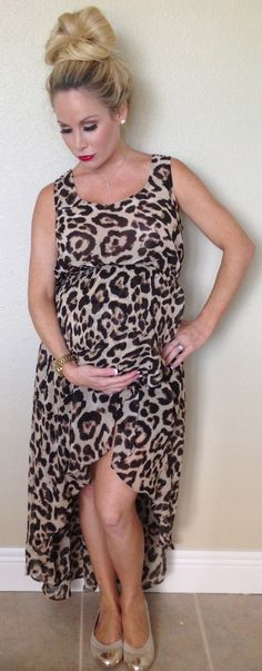 The dress I wore to PF's 2nd bday. (Not maternity) lol