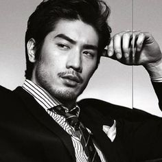 Takeshi Kaneshiro is a Japanese actor and singer of mixed heritage - his father is Okinawan Japanese and his mother is Taiwanese. What a stud muffin!!! Love him in house of flying daggers!