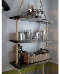 artesanato (3) estante de cordas e tabuas