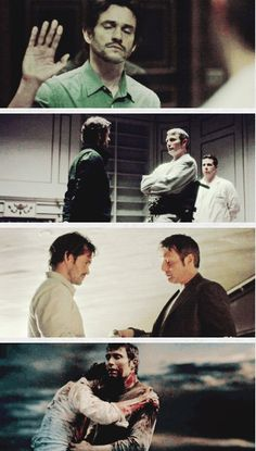 The distance was getting shorter and shorter. Hannibal 3x13 The Wrath of the Lamb. Source: color-division.tumblr
