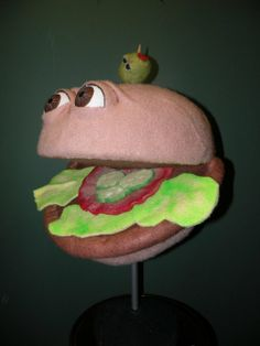 Burger - The Dummy Shoppe | Ventriloquist Puppets by JET