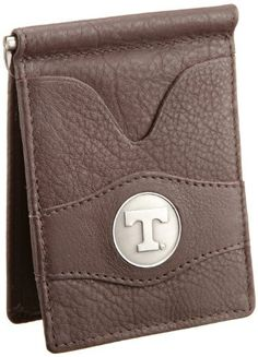 Danbury Men's University Of Tennessee Front Pocket Money Clip, Brown, One Size Danbury. $26.50. Inside metal currency clip, exterior and interior ID windows, six credit card pockets. 100% Leather. Made in India. Hand Wash. Packaged in collectable gift tin, antique style university ornament in center of wallet