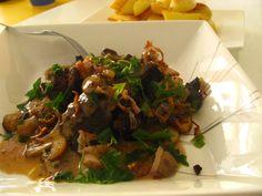 Kuř.játra Stroganov Beef, Food, Meat, Hoods, Meals, Ox, Ground Beef, Steak