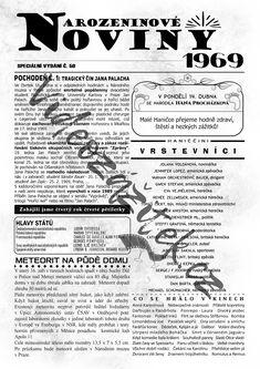 Vydání novin přizpůsobené jubilantům, kteří v roce 2019 oslaví 50. narozeniny. Jedinečnost novin podtrhuje skutečné jméno, příjmení a datum narození oslavence. Vhodný dárek nebo předmět pro zpestření oslavy. Hawaii, Bob, Memes, Bob Cuts, Meme, Hawaiian Islands, Bob Sleigh, Bobs