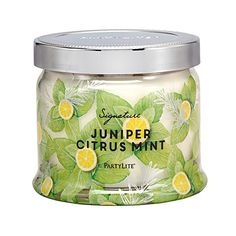 Juniper Citrus Mint 3-Wick Jar Candle - 2 for £34.50!