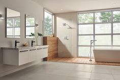 Gone are the days of bathrooms simply being utilitarian spaces.