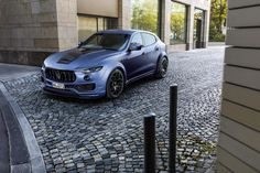 Just in case you felt like something was missing from the Maserati Levante SUV, Novitec Esteso has you covered.  The German tuning house has crafted an aggressive perfromace kit for the Italian SUV, which gives it a wider body and better overall performance.  Fender flare upgrades to the front and rear add an additional 10cm to the car's width, and allow it to have a much more imposing presence.  The front of the car also gets a wind tunnel-tested front spoiler and blade while the rear gets…