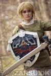 I finally finished my Skyward Sword Link cosplay this week! I debuted it at Genki-con 2014 and I got loads of positive reactions and comments (thank you, all <3).. I have progress blog ent...