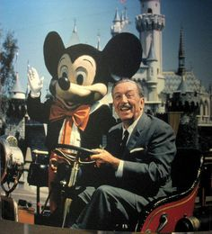 We LOVE you Walt for creating Mickey and the gang