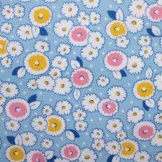 Storybook Playtime - Floral on Blue