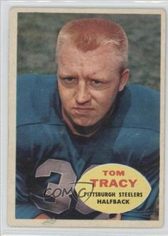 Tom Tracy UER COMC REVIEWED Good to VG-EX Pittsburgh Steelers (Football Card) 1960 Topps #95 by Topps. $2.00. 1960 Topps #95 - Tom Tracy UER COMC REVIEWED Good to VG-EX