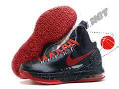 Cheap Buy Nike Zoom KD V Dark Blue Red Halloween Treats Price