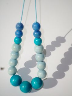 #tutu inbetweentheraindrop @etsy https://www.etsy.com/listing/198782739/blue-non-toxic-wood-bead-nursing