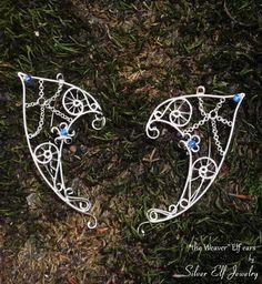 Elf Ears The Weaver elven ears elven ear cuff by SilverElfJewelry