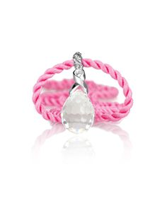 Supporting Breast Cancer Awareness with the Charis Crystal Pendant – Jenna Clifford Jenna Clifford, Pink Silk, Crystal Pendant, Crystal Healing, Sale Items, Diamond Jewelry, Swarovski, Jewelry Design, Pendants