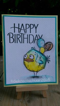 Bird Crazy Birthday - Mirjam Vree