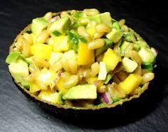 Kochglück: Avocado-Mango-Kamut-Salat (2P)