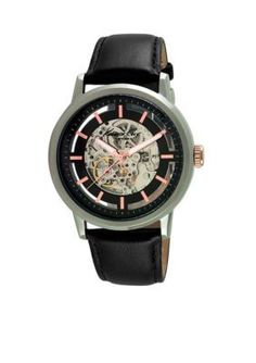Kenneth Cole  Mens Round Automatic Movement Watch