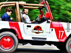 Need this, because childhood. Jurassic Park Jeep YJ Softtop