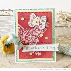 Make It Monday #321: Ink Blending on Colored Cardstock