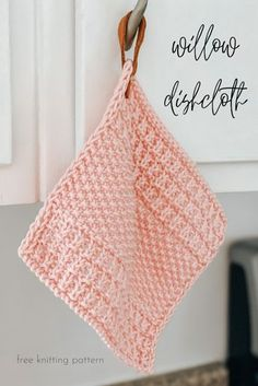 Knitted Dishcloth Patterns Free, Knitted Washcloths, Knitting Patterns Free, Crochet Patterns, Dishcloth Crochet, Lace Patterns, Canvas Patterns, Clothing Patterns, Easy Knitting