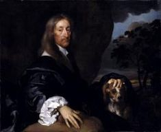 Gilbert Soest, 'Portrait of a Gentleman with a Dog, Probably Sir Thomas Tipping' c.1660