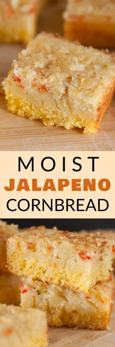 This Southern recipe uses buttermilk to make the cornbread extra soft! The Jalapenos give it a little Mexican taste! I always serve homemade cornbread with dinner casseroles! Beans And Cornbread, Jalapeno Cornbread, Homemade Cornbread, Jalapeno Recipes, Mexican Cornbread, Cornbread Recipes, Buttery Biscuits, Easy Bread, Recipe Using