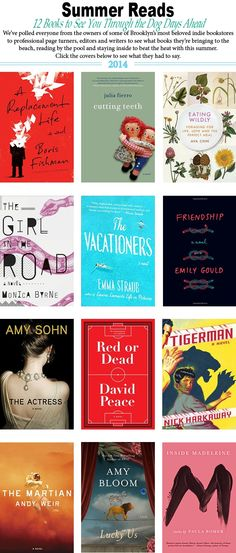 12 Summer Reads We Couldn't Put Down | Brooklyn Based