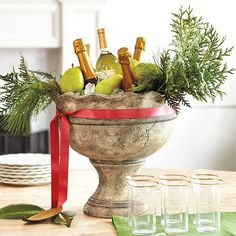 for serving wine during the holidays