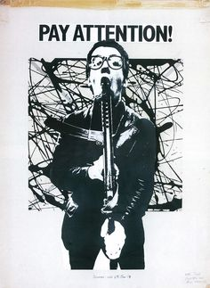 Barney Bubbles - Pay Attention,  Elvis Costello