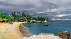 Tanjung Pesona View, Bangka - Sungailiat Bangka Island, Belitung, Before I Die, Lighthouse, Waves, City, Beach, Outdoor Decor, Travelling
