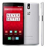 Unlocked 4G FDD-LTE OnePlus One+ Android 4.4 Qualcomm Snapdragon 801(8974AC) Krait 400 Quad Core 2.5GHz Smartphone 5.5inch 1920 x 1080p 5.0MP+13.0MP Camera RAM 3GB+ROM 16GB/64GB (white(3+16))