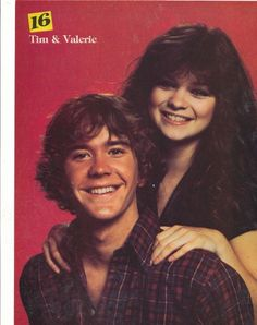 TIMOTHY HUTTON & VALERIE BERTINELLI Tv Couples, Celebrity Couples, Pinup, Timothy Hutton, Bathing Suits Hot, Tv Show Casting, Valerie Bertinelli, Star Wars, Young Love
