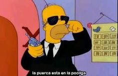 Trendy Memes Humor Spanish The Internet Simpsons Frases, Simpsons Funny, Simpsons Quotes, The Simpsons, Exo Memes, Funny Memes, Memes Humor, Simpsons Springfield, Spanish Humor