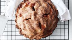 This holiday beauty proves just how delicious special-diet desserts can taste. The pate brisee for this pie is made with safflower oil, not butter, so vegans can dig in.