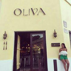 Excelente restaurante el que visitamos  en el centro de la ciudad de Mérida, comida italiana con ingredientes típicos de la región yucateca que  gran fusión 👌🏽 @oliva_merida 🇲🇽 Mi outfit: @wynwood_bq