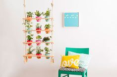 Vertical Garden - 16 DIYs You Need To Try This Weekend, According To Pinterest - Photos
