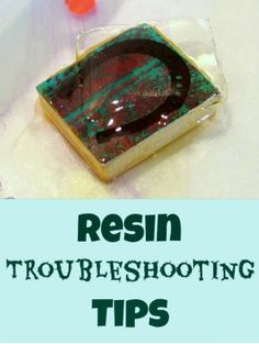 Resin Troubleshooting Tips – Epoxy resin troubleshooting – Resin Obsession – Resin techniques – epoxysxs Resin Pour, Ice Resin, Resin Molds, Resin Art, Resin Jewlery, Making Resin Jewellery, Resin Ring, Diy Resin Crafts, Jewelry Crafts