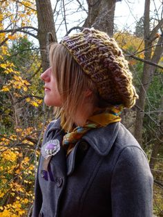 Cool hat knit in a few hours?  I'm all over it!