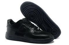 wholesale dealer bca1b b102f Nike LUNAR FORCE 1 FUSE Mens Black Shoes Nike Casual Shoes, Black Nike Shoes ,