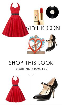 """""""Untitled #4"""" by hanife-dogrul ❤ liked on Polyvore featuring beauty, Dorothy Perkins and Yves Saint Laurent"""
