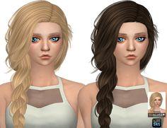Summer Haze Hair Retexture at Simista via Sims 4 Updates