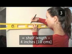 How To Put Up Shelves On Dry Wall Or Plasterboard