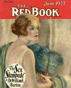 The RedBook, June 1927. Illustration by Edna Crompton.