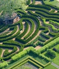 Maze Garden, Morton Arboretum, Lisle, IL, USA. Mazes have stimulated imagination, myth, and legend throughout history. Our one-acre Maze Garden offers an adventure for young and old alike.