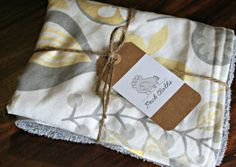 Dish Drying Pad  100 Cotton  Cream/Grey/Gold by peckcloths on Etsy, $15.00