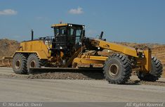 CAT graders | ... Surface Mine)-Caterpillar 24M Road Grader | Flickr - Photo Sharing