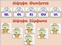 sofiaadamoubooks Teaching Methods, Teaching Resources, Kids Education, Special Education, Learn Greek, Greek Language, Greek Alphabet, Back 2 School, School Levels