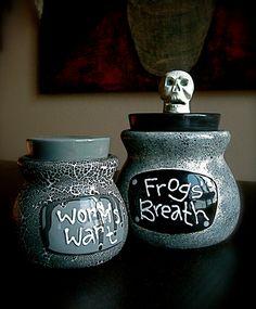witch's jars