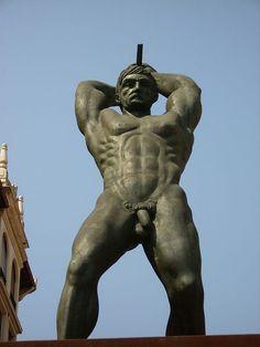 Nude Male Statue 78